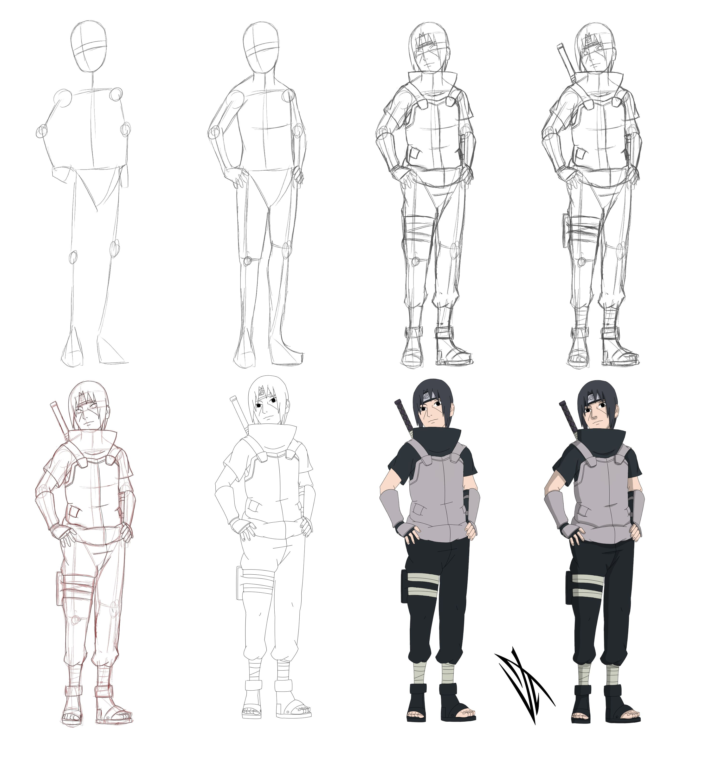 Pin By 牛邓 On 线稿 In 2019 Pinterest Naruto Drawings Naruto
