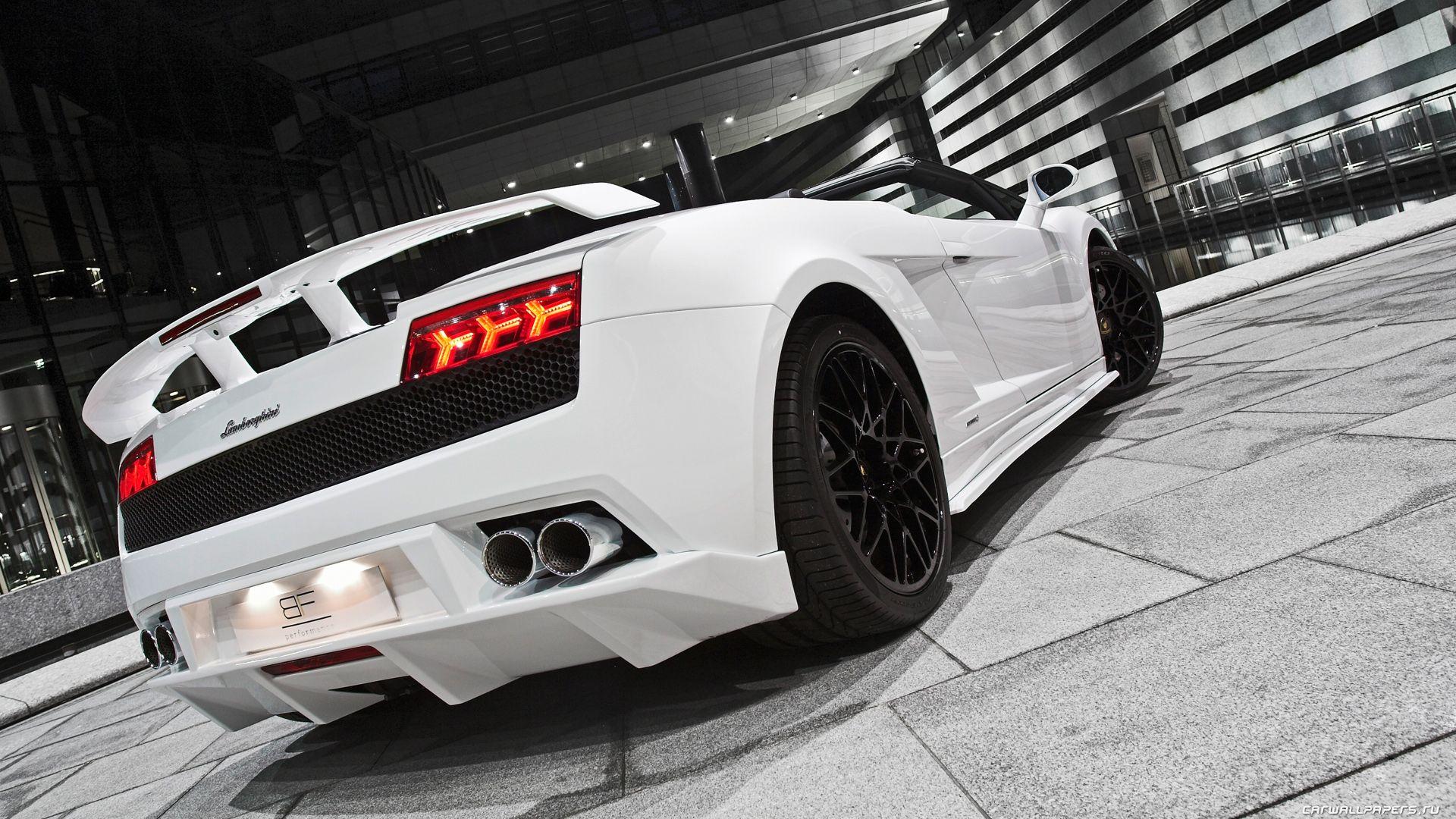 Lamborghini White Wallpapers HD