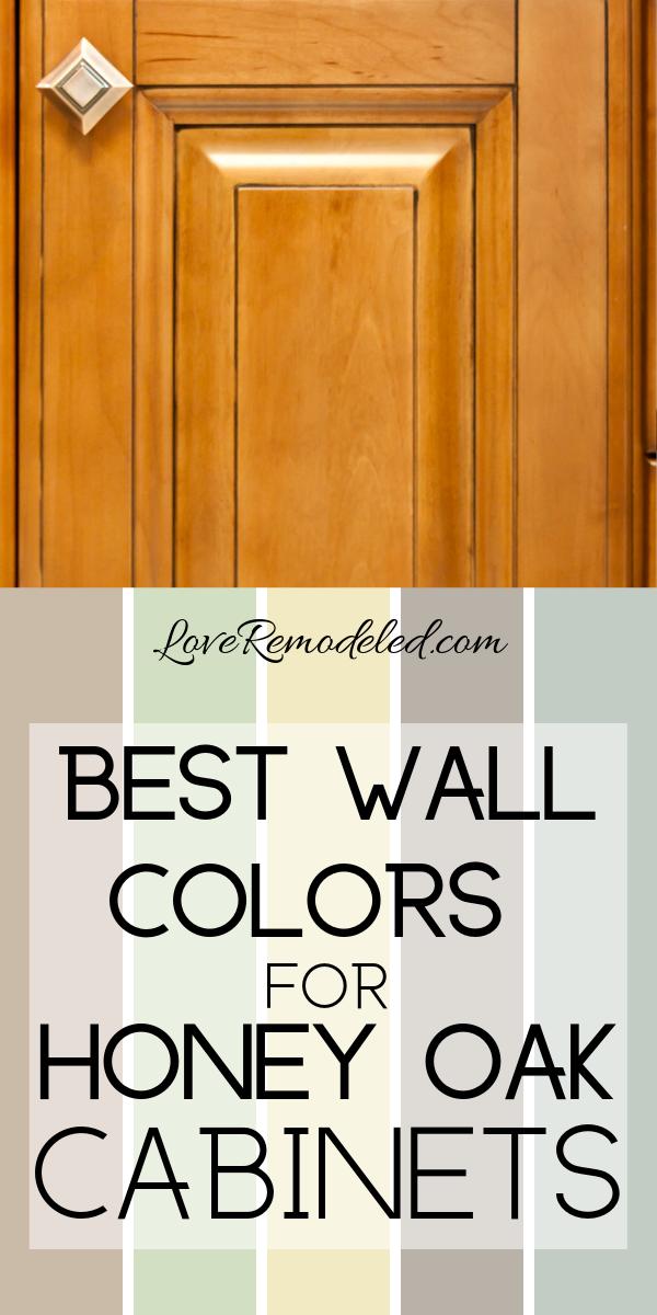 Wall Colors For Honey Oak Cabinets Oak Kitchen Cabinets Wall Color Paint For Kitchen Walls Honey Oak Cabinets