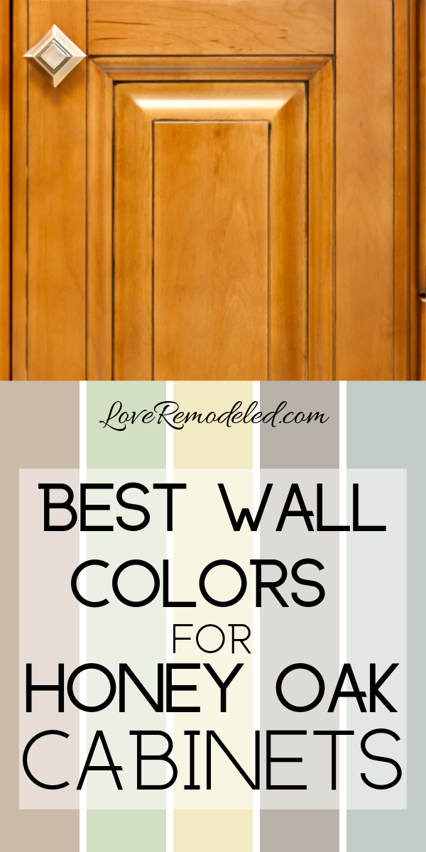 Wall Colors For Honey Oak Cabinets Oak Kitchen Cabinets Wall