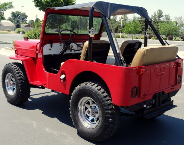 Rare 1954 Willys Jeep Cj3b High Hood Usa Special Ready For The