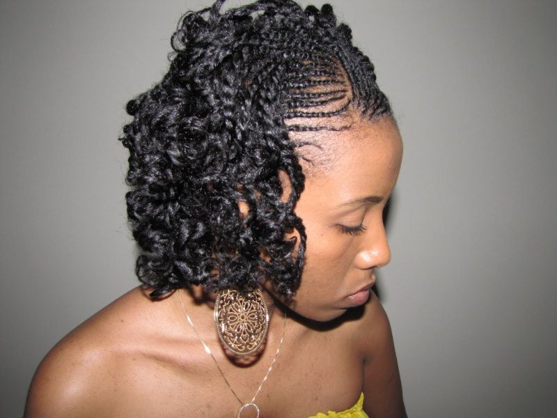 Two Strand Twist Style Muy Bonita Flat Twist Hairstyles Natural Hair Styles Twist Hairstyles