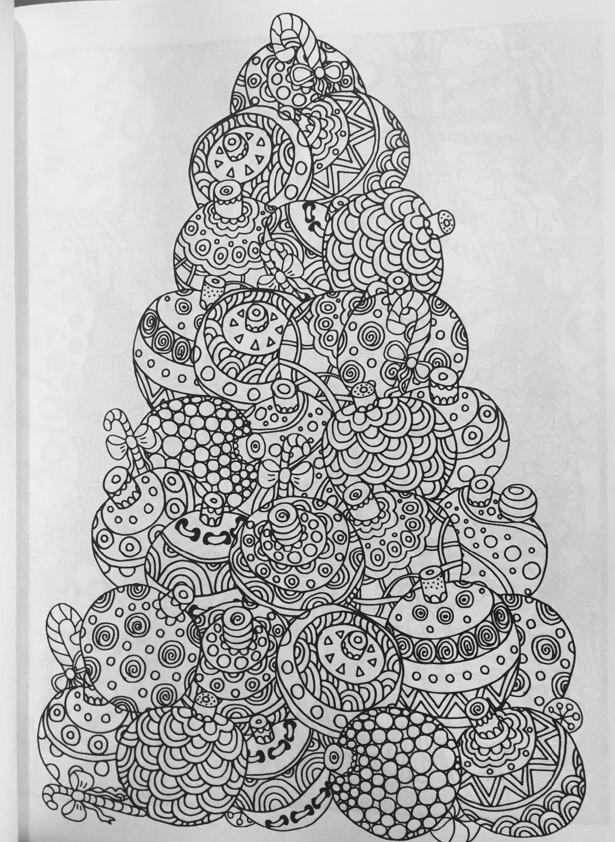Christmas Coloring Book A Stress Management Coloring Book