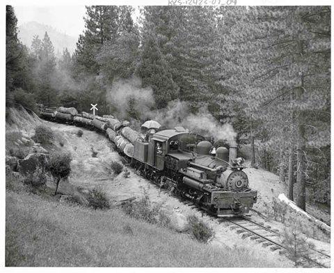 West Side Lumber Pany Model Railway