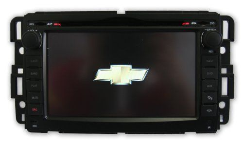 Chevrolet Silverado 07 12 S60 In Dash Double Din Touch Screen Gps