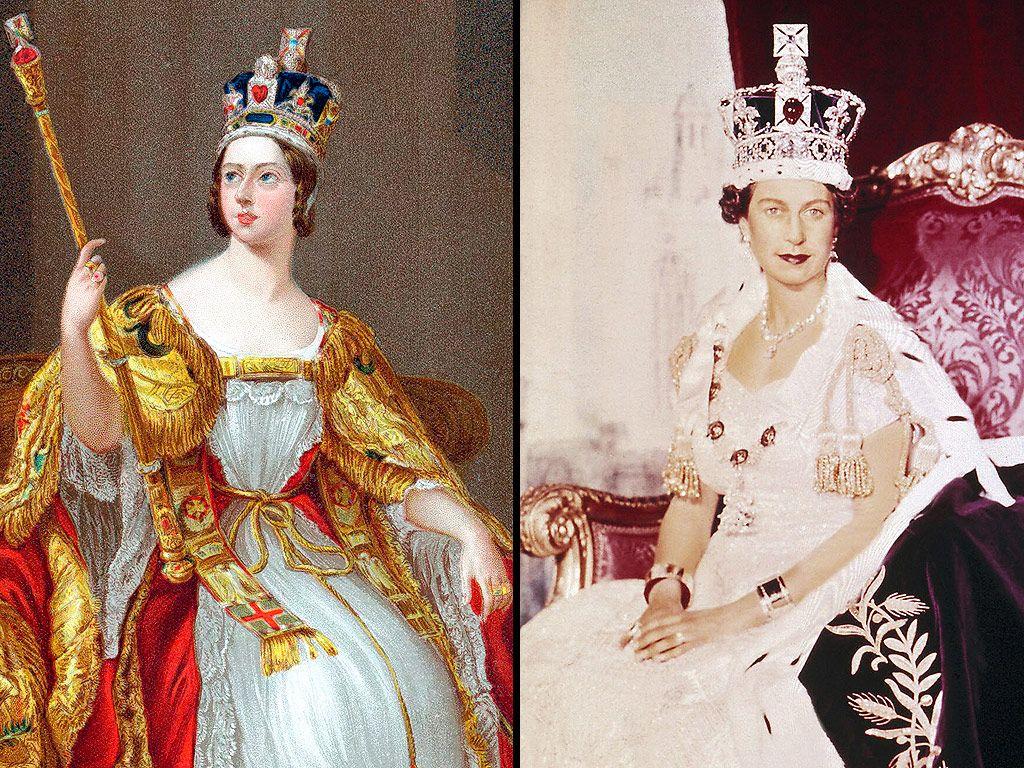 queen victoria early portrait full face head shoulders monarch ...