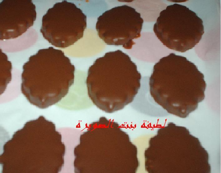حلوة هشيشة بكاوكاو كدوب في الفم Cookies Sweet Desserts