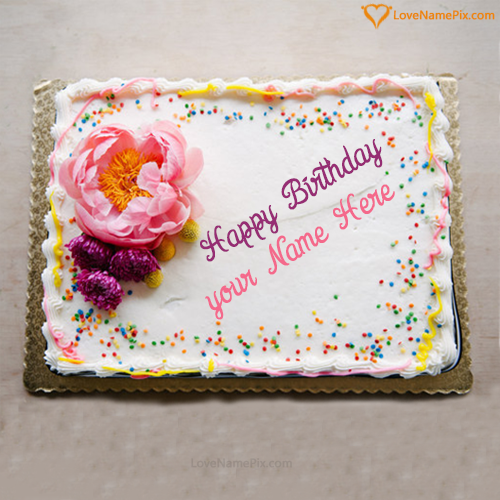 Edit Birthday Cake Generator With Name Photo