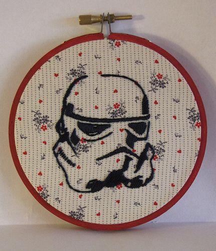 Gigglymamas storm trooper star wars hand embroidery embroidery gigglymamas storm trooper star wars hand embroidery dt1010fo