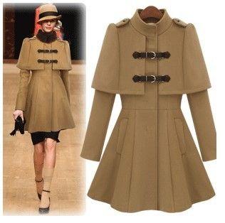 Fashion star ruslana korshunova woolen outerwear slim poncho ...