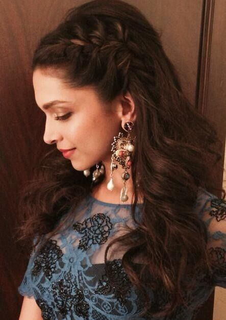 Adorable Deepika Padukone Braided Hairstyles Styles Time Coiffure Coupe De Cheveux Coiffure Mariage