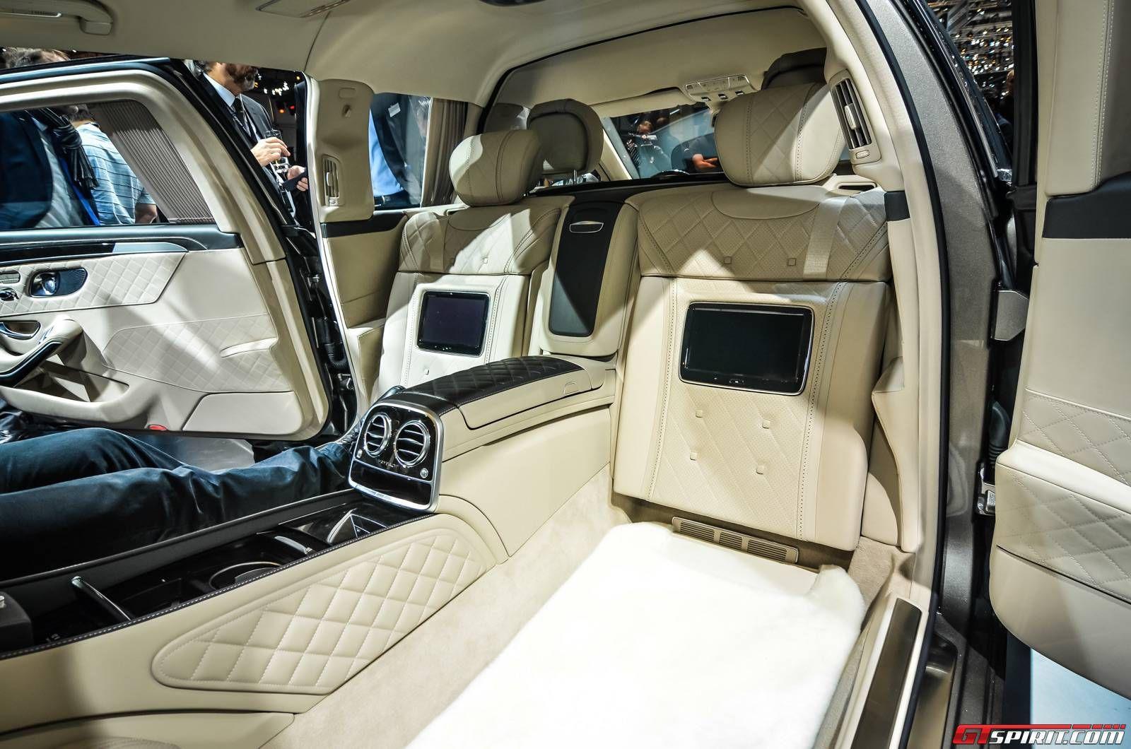Mercedes benz maybach pullman geneva 2015 mercedes for Mercedes benz maybach interior