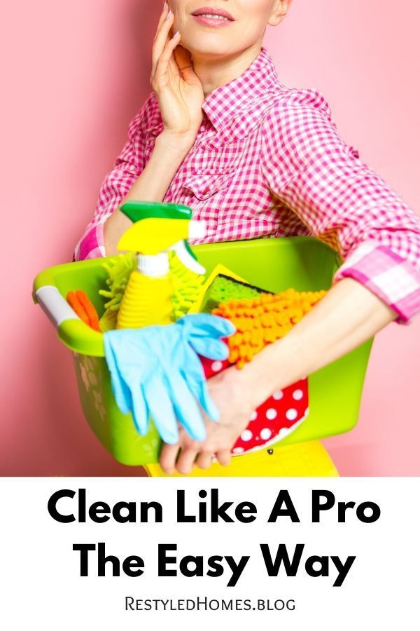 Clean your house like a pro. These hacks can make things easier!