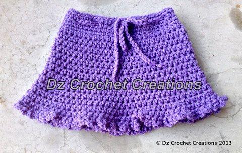 Crochet Baby Skirt By Handmadebydz On Etsy 1500 Photo Props