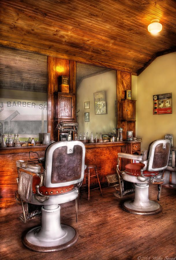 Barber - The Barber Shop II Photograph