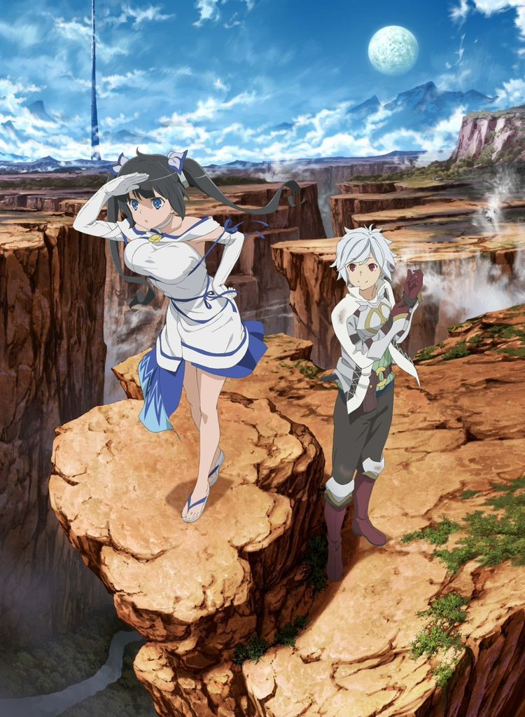 DanMachi Season 2 Announced And Anime Movie Reveals More