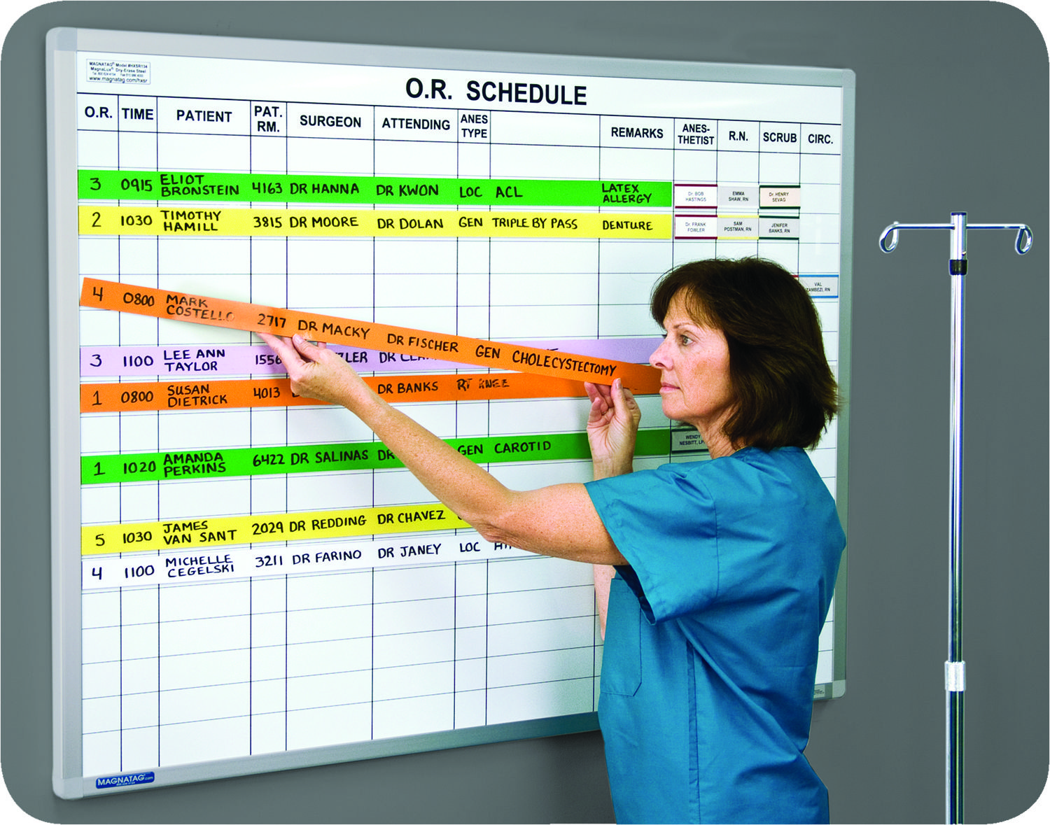 The Hospital OR Surgery Scheduling Board  Hospitals