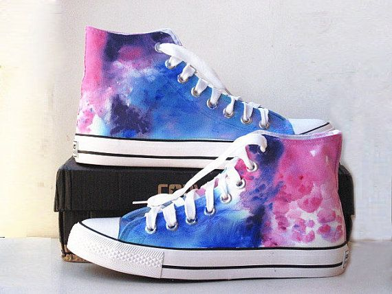9b1bd0d4746353 Galaxy Converse shoes Custom Converse Galaxy by Kingmaxpaints ...