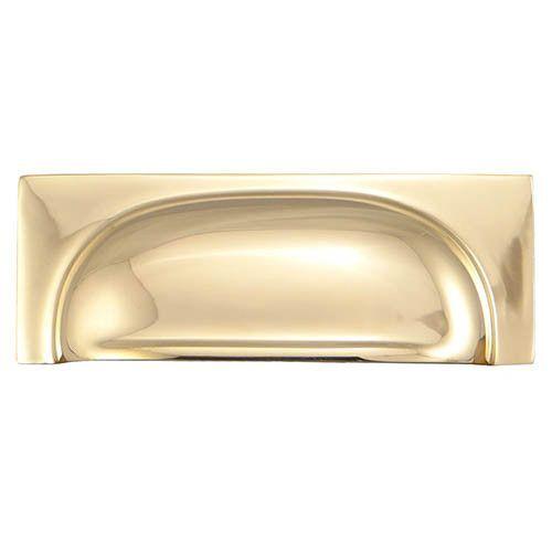 Horton Brasses Queslett Bin Pull - 4 1/4 in.   Brass ...