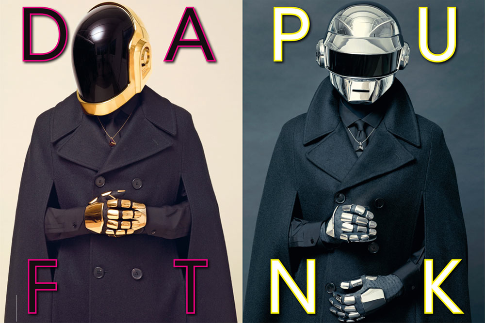 Daft Punk for L'Uomo Vogue July/August 2013 Issue