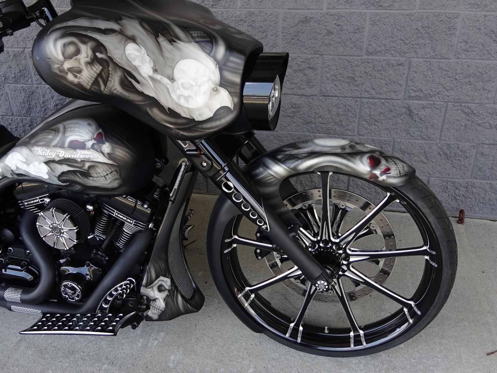 2013 harley davidson street glide custom bagger 26 wheel 120r motor