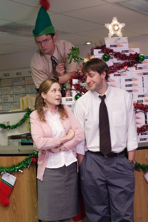 ah the office christmas - The Office Christmas