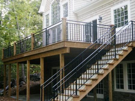 Wrought Iron Deck Railing Ideas Visit more Deck Railing