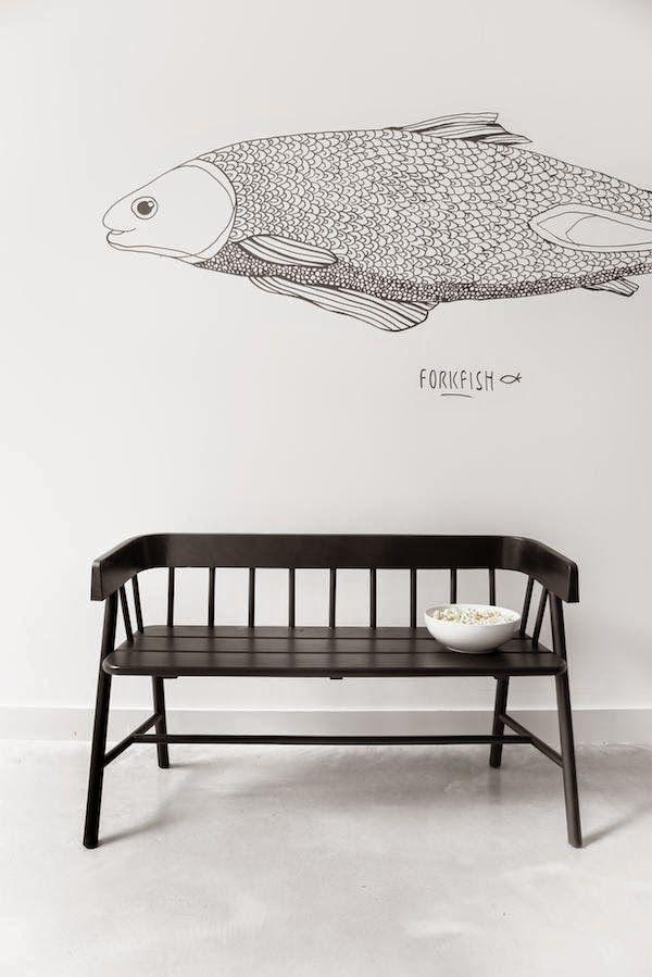 Black  White for your interior ▽▽Walls * Floors Pinterest - Chambre De Commerce Franco Suedoise