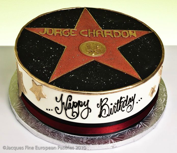 Hollywood Star Cake Adult Cakes All Occasion Pinterest