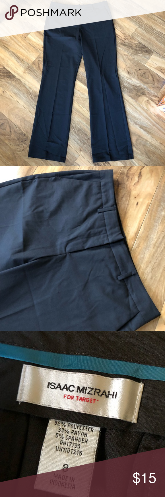 2for15 Isaac Mizrahi Faded Black Dress Pants Black Dress Pants Isaac Mizrahi Black Dress [ 1740 x 580 Pixel ]