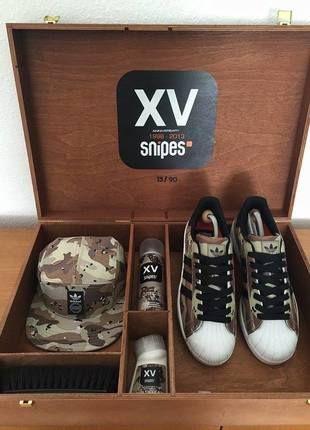 SNIPES x Adidas Anniversary Box Superstar Camo | lll MUST