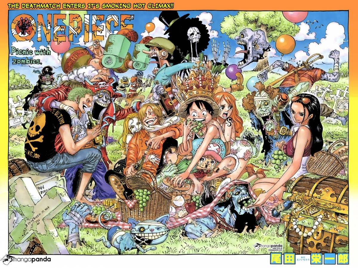 479ed211ce3 color spread for chapter 784 of ONE PIECE | one piece | One piece ...