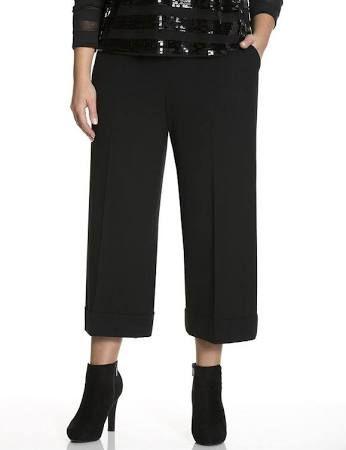 plus size wide leg cropped pants - Google Search