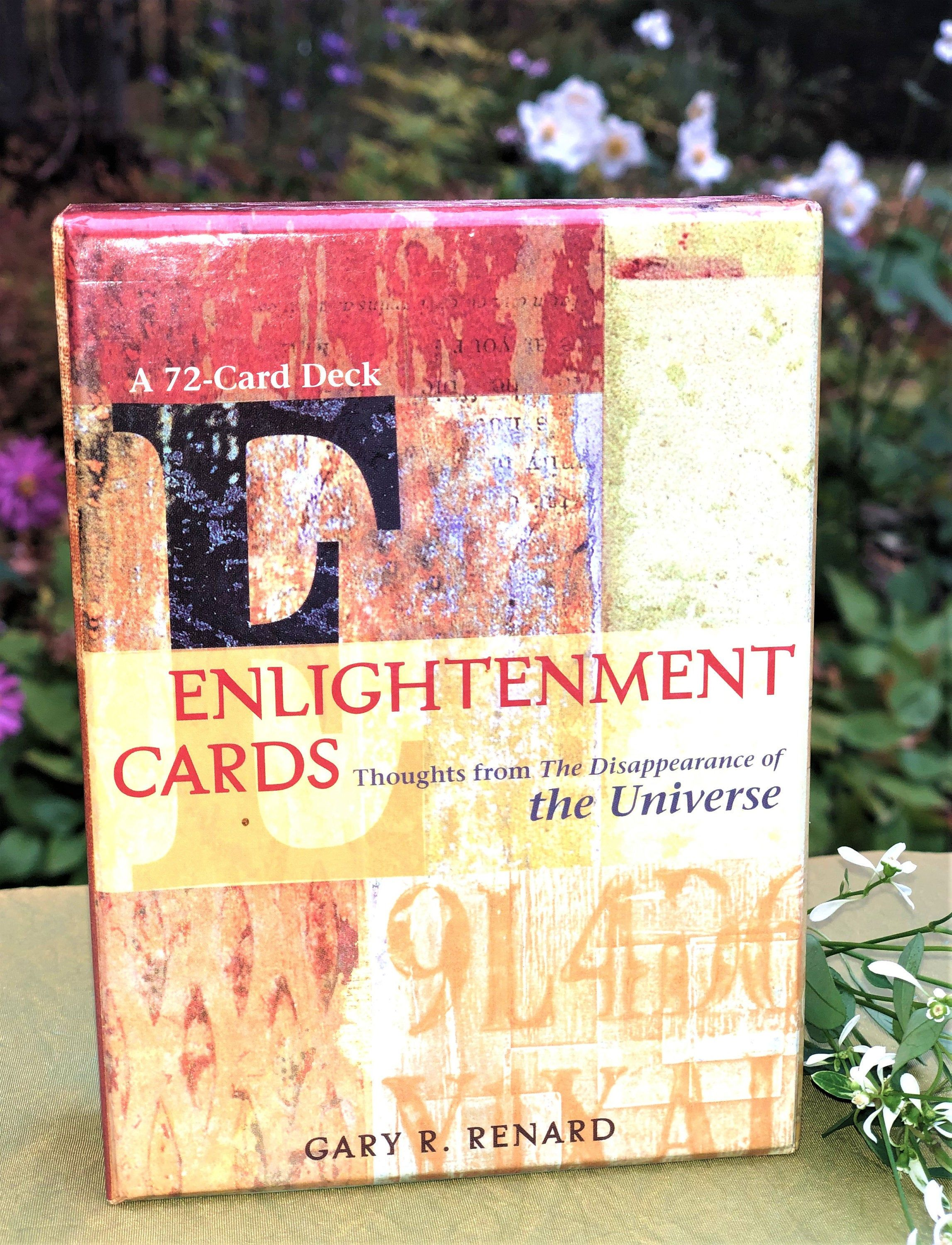 Dissappearance Of Universe Cards Enlightenment Gary Renard 72 Inspirational Card Boxed Set In 2020 Inspirational Cards Cards Universe