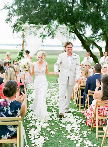 Pink River Course Wedding On Kiawah Island
