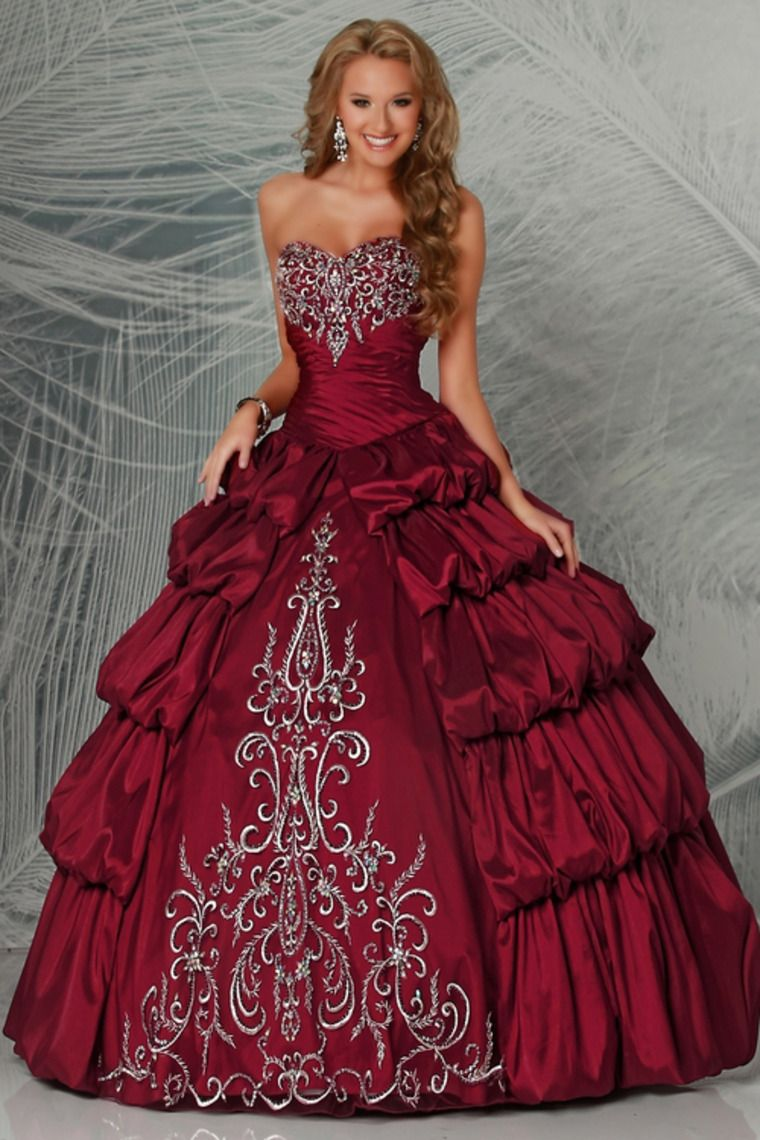 63897a1ac9d Buy Terrific Quinceanera Dresses Sweetheart Ball Gown Pick Up Bubble Skirt  With Embroidery latest design at online stores