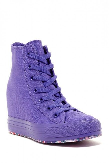 5f77fbe0be85 Converse Chuck Taylor High Top Hidden Wedge Sneaker