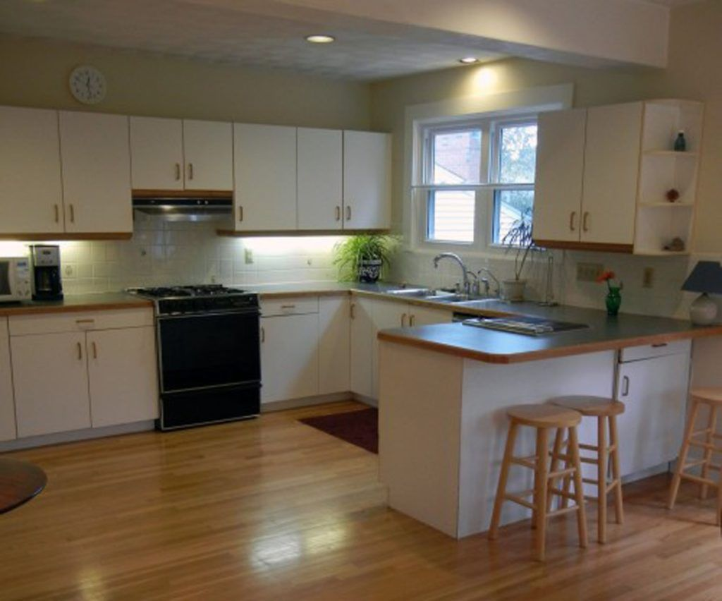 Updating White Laminate Kitchen Cabinets | Kitchen Cabinets ...