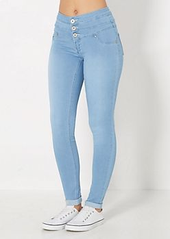 High Waisted Jeans For Teens - Xtellar Jeans