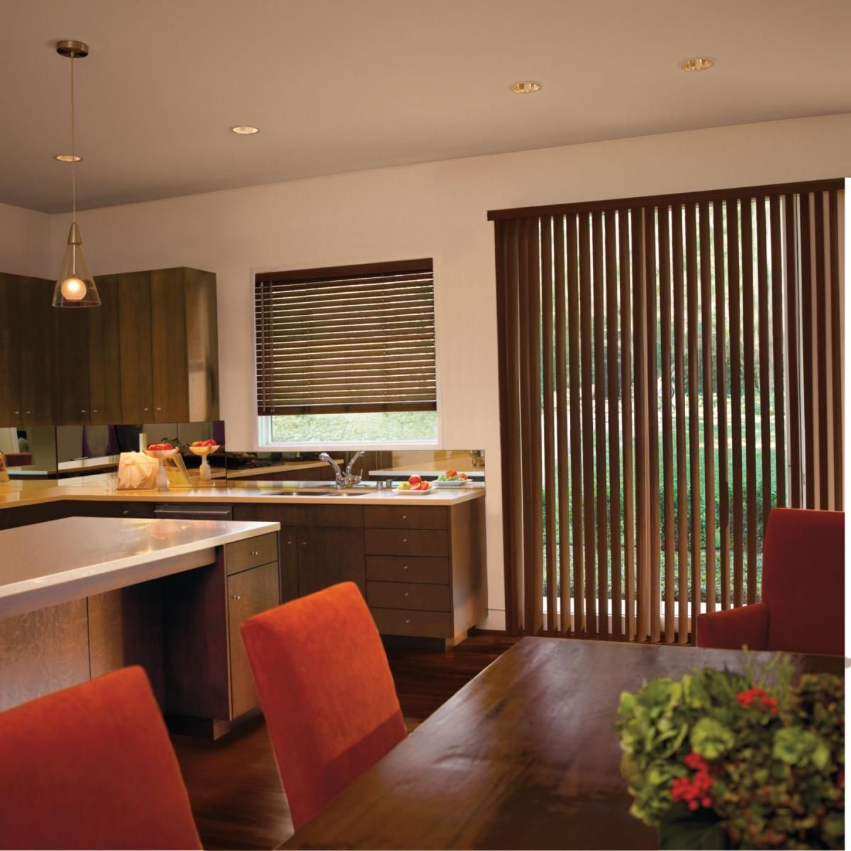 Wood u faux wood blinds kirsch blinds and shades pinterest