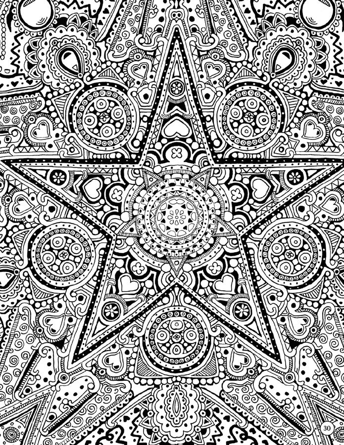 star natural patterns a coloring book by janelle dimmett
