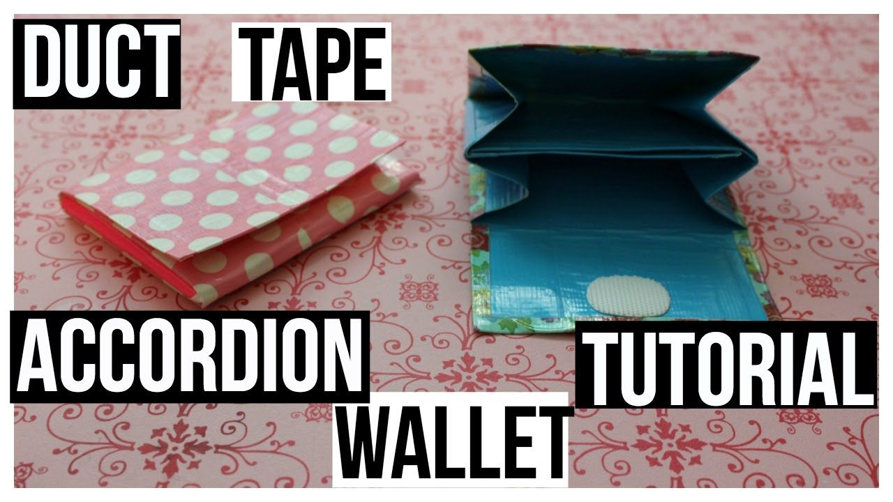 38+ Duct tape crafts youtube information