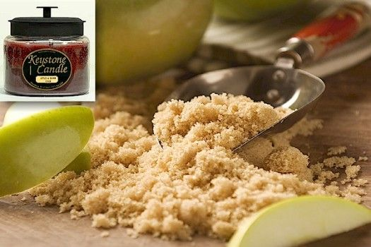 Imagine this! Fresh picked apples, peeled, sliced, and sprinkled with maple flavored brown sugar. This is our Apples & Brown Sugar scent.