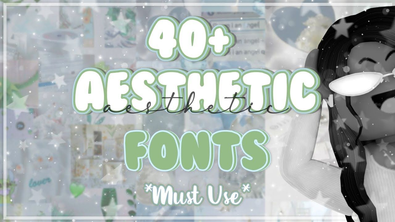 40 Popular Aesthetic Fonts Must Use 2020 Names Links Youtube Aesthetic Fonts Fonts Font Names