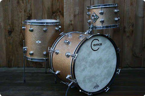 Camco Aristocrat Original Champagne Sparkle Drum Percussion Vintage Drums Drums Drums For Sale
