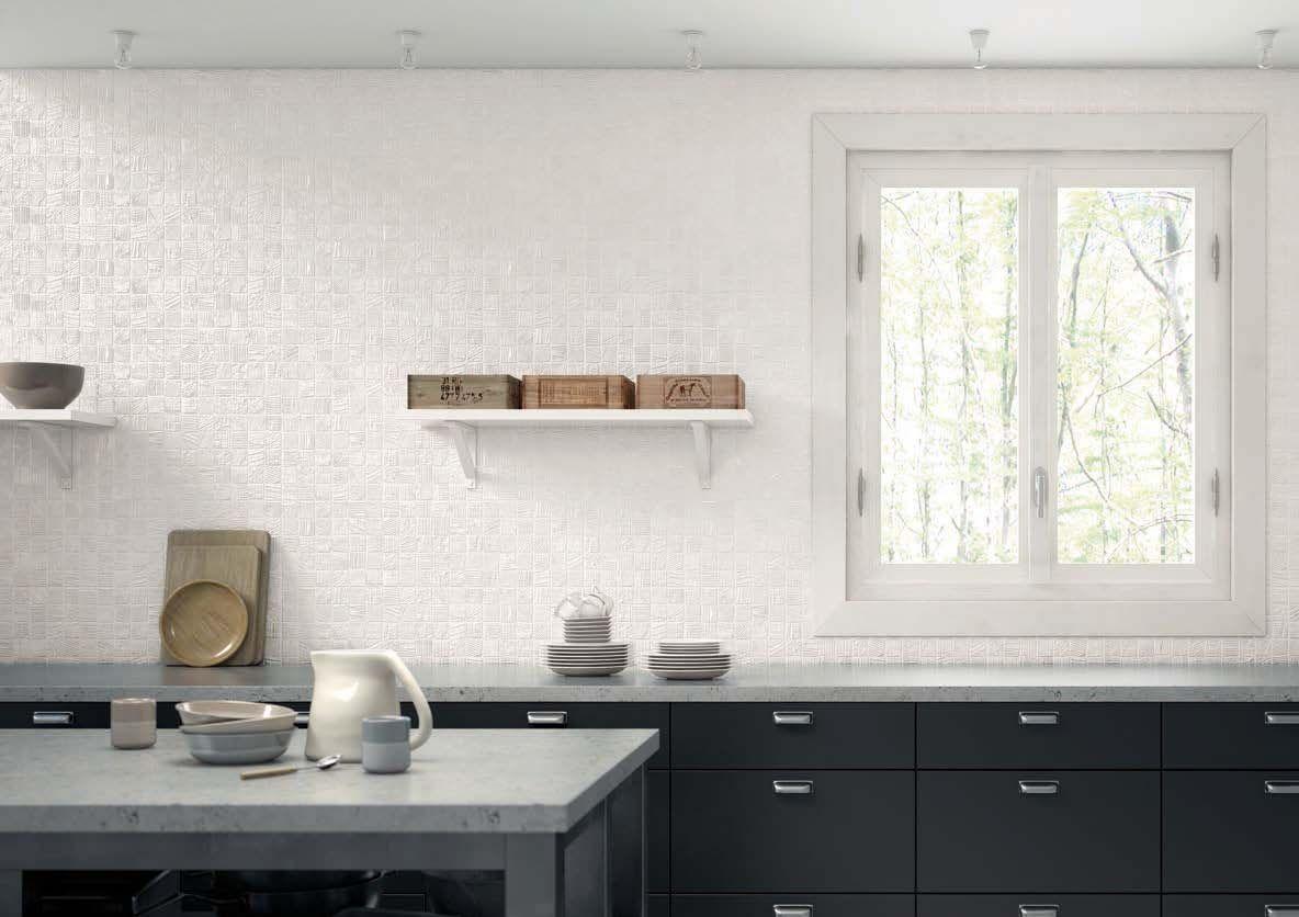 Pingl par espace careo sur carrelage cuisine pinterest for Faience cuisine contemporaine