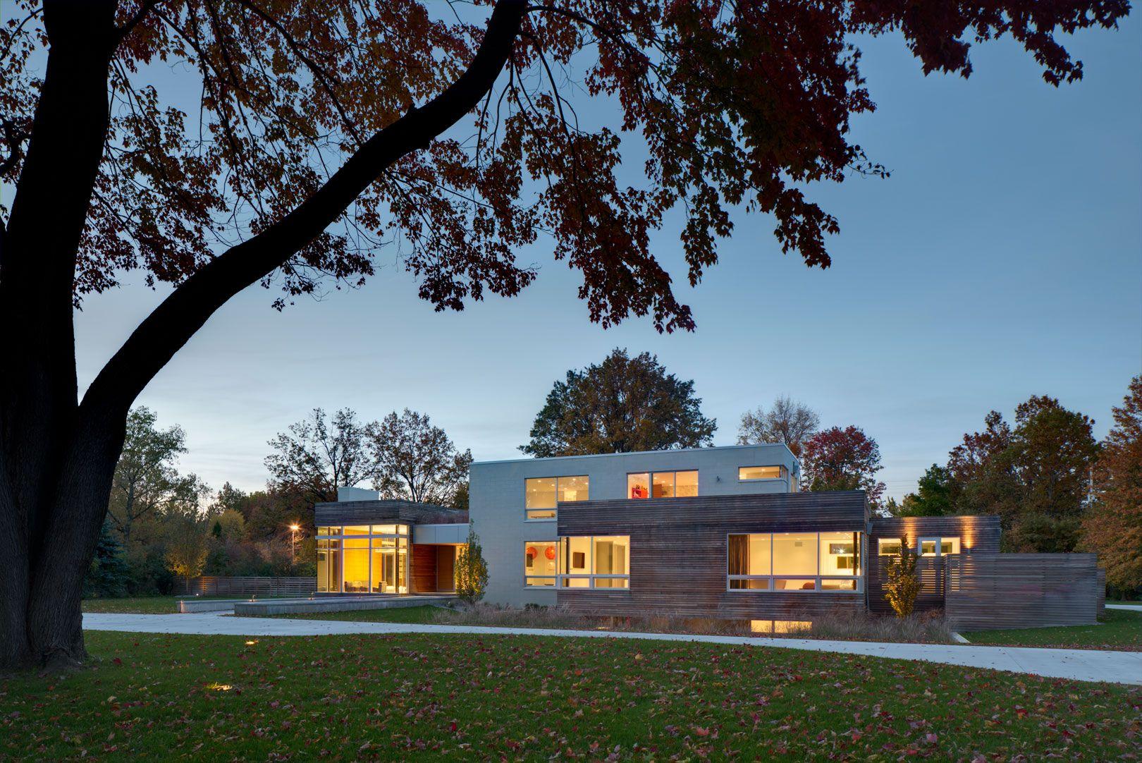 Design Modern Residence Ohio Imposing Contemporary