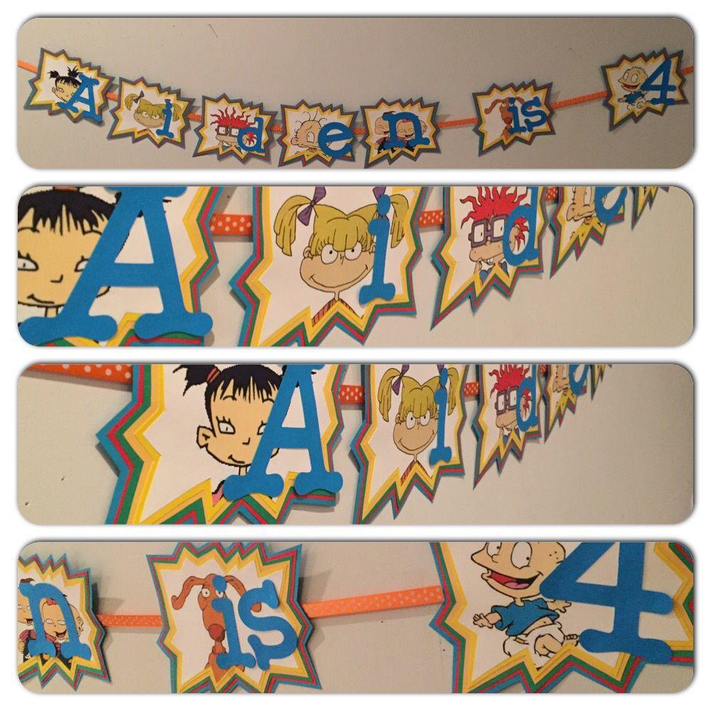 Rugrats Party, Rugrats Party Decorations, Rug Rats Party