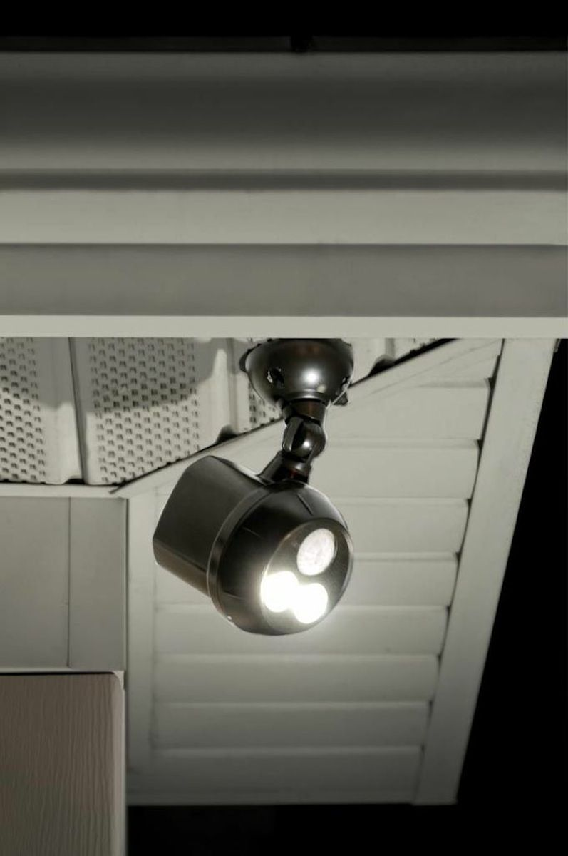 Light Your Gardens Porches And Driveways With The Ultrabright Ceiling No Wiring Spotlight Required