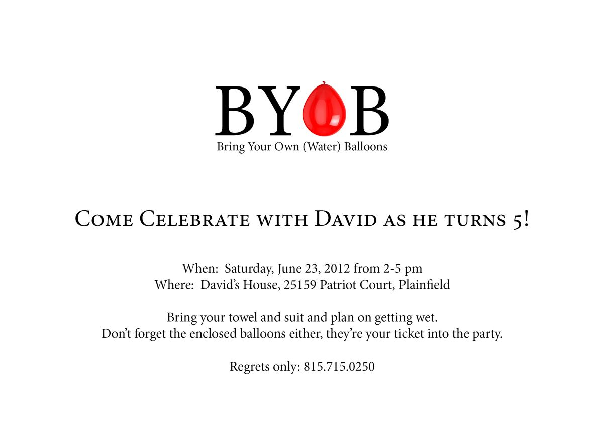 Birthday Party Invitation by Pheriga, Inc.